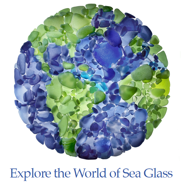 The Sea Glass Center, a traveling sea glass museum