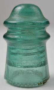aqua insulator - a common color