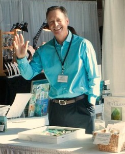 Richard during the 2014 NASGA festival in Cape May, his last festival as President