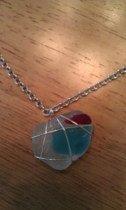 The missing necklace- red, white and blue...a special treasure