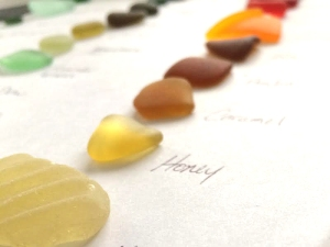Carter Sea Glass Color Naming