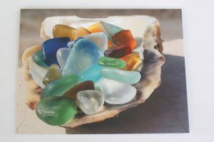 Christeena's sea glass collection