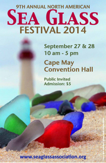 2014 SEA GLASS FESTIVAL POSTER