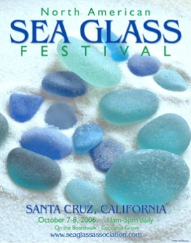 2006 SEA GLASS FESTIVAL POSTER