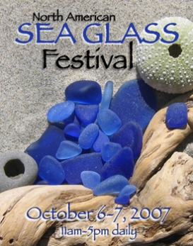 2007 SEA GLASS FESTIVAL POSTER