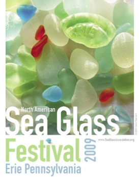 2009 SEA GLASS FESTIVAL POSTER