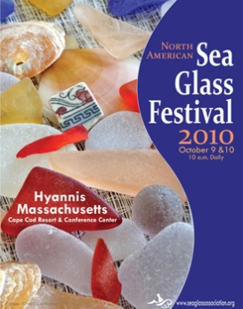 2010 SEA GLASS FESTIVAL POSTER