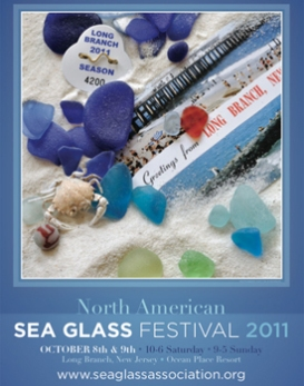 2011 SEA GLASS FESTIVAL POSTER