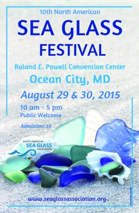 2015 SEA GLASS FESTIVAL POSTER
