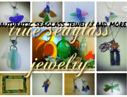 true sea glass jewer