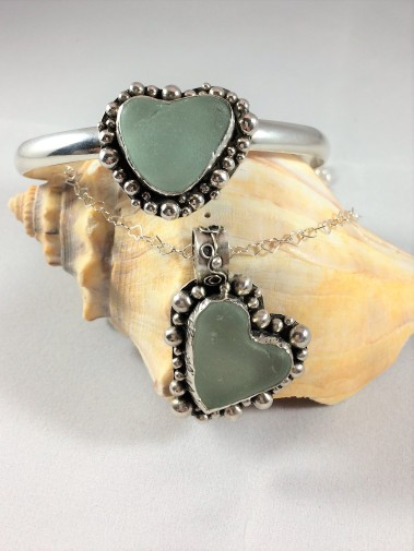 Seafoam Heart set
